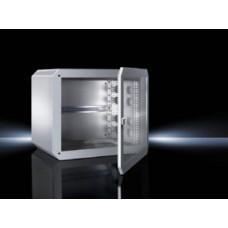 Шкаф 7502024 QuikBox 9U 600х495х400 с обзорной дверью