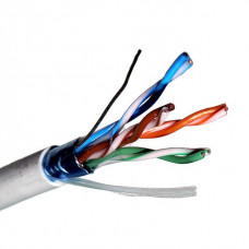 Кабель UTP solid gray cable. cat. 5E 305 m