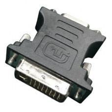 Переходник видеосигнала GEMBIRD A-DVI-VGA-BK 15pinHD