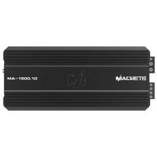 Усилитель одноканальный Alphard Machete MA-1500.1D 1 канал. класс D. Мощность RMS в 1 Ом 14.4 В 1500 Вт. Размеры 374x159x59,5 мм