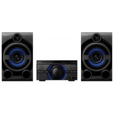 Музыкальный центр SONY SONY MHC-40D Мощная домашняя аудиосистема со встроенным проигрывателем DVD, технологией Sound Pressure Horn, LDAC, функциями караоке и DJ-эффектами.